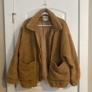 I Am Gia Pixie Teddy Coat, Teddy Jacket, Size M